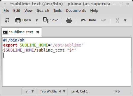 Pluma Text Editor Sublime Text 2